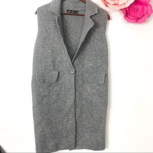 2 for 25 lyla + luxe long warm vest grey M